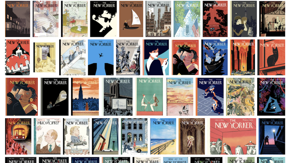 Examples of New Yorker magazine covers